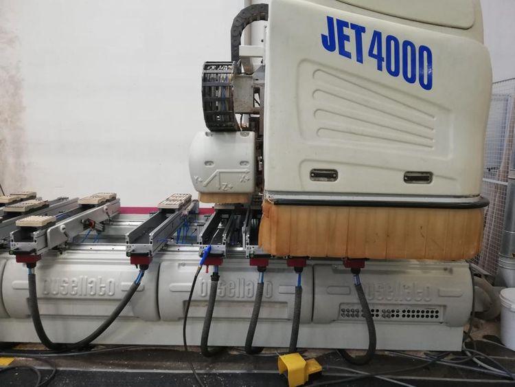 Busellato Jet 4000, CNC