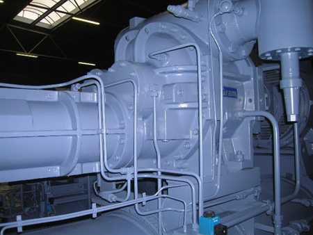 Frick, Gram, York GSV-147 / Screw compressor package 888 kW/261 tons