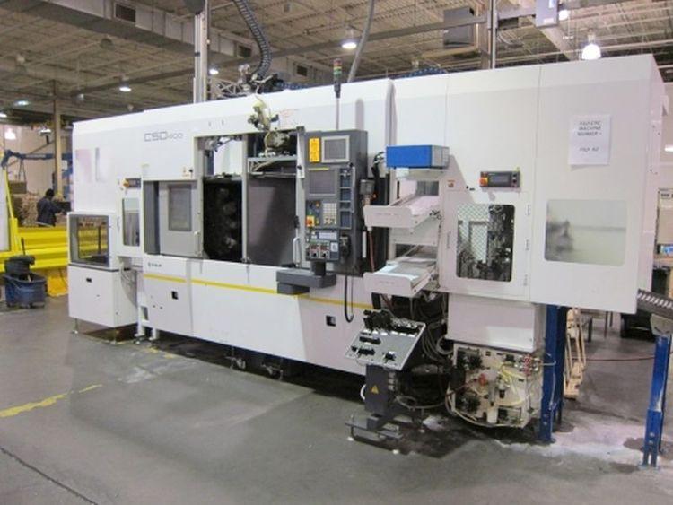 Fuji FANUC Oi-TD CNC CONTROL Max.  2220 RPM CSD 400 2 Axis
