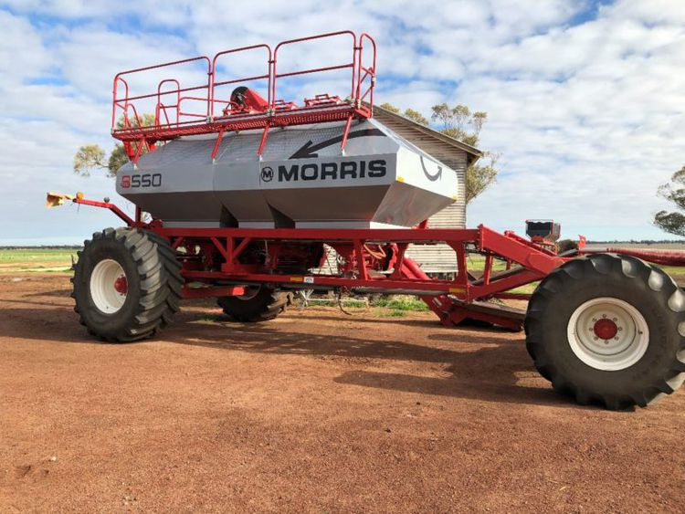 Morris Grain Carts