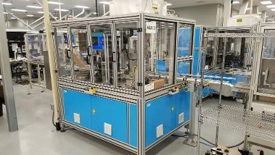 MCBVPU, 4 Station A & R Automation Robotics Blocker