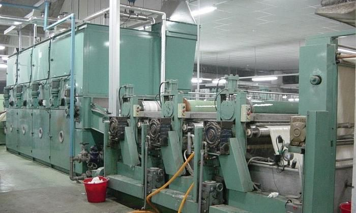Wool top backwash machine