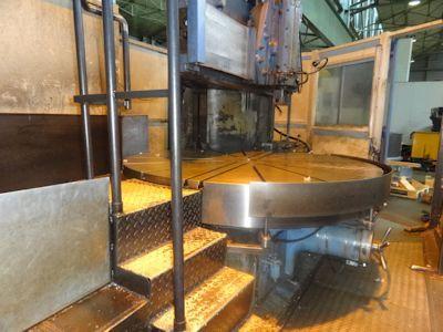Berthiez JA 9340 CNC Vertical Boring Mill