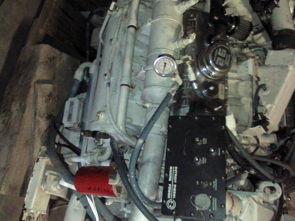 2 Detroit 6V92 Pair Detroit 6V92s 550HP bobtail RTO