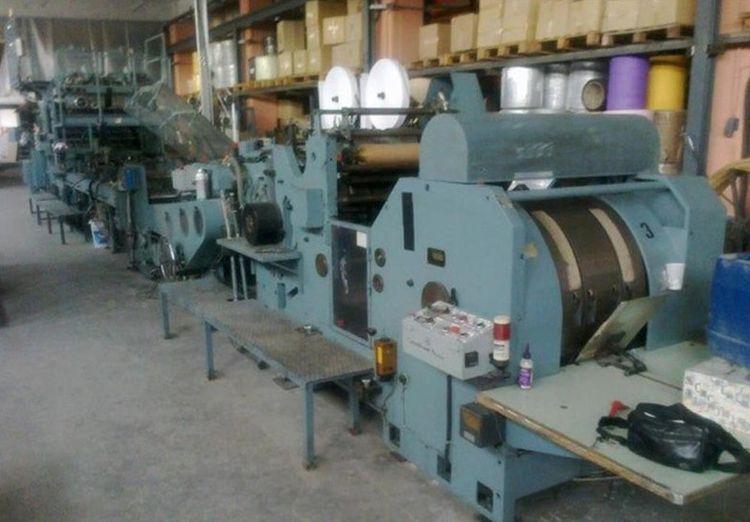 Newport 342T+505TH, SOS square bottom bag making machine