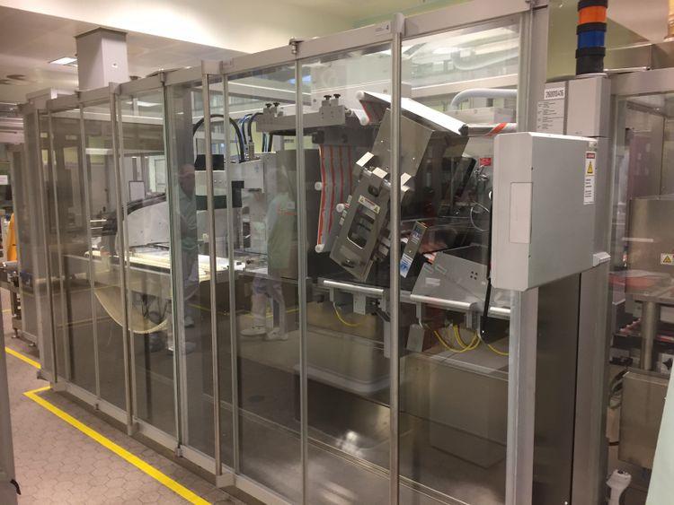 UHLMANN UPS5 272 x 284mm Blister Machine