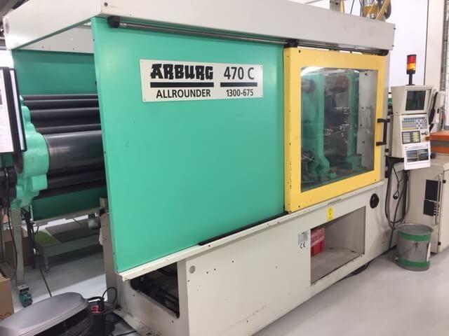 Arburg 470 C - 1300 - 675 130 TONS