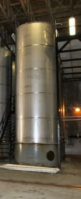 Valley Foundry Single Shell Stainless Steel Tank 6,000 Gallon