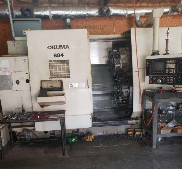 Okuma OSP Control 3200 RPM LU35-2SC x 850 2 Axis