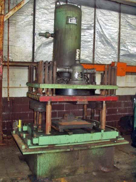 Pneu-Power Cutoff Press 80 Ton