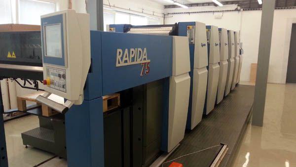 KBA RAPIDA 75-5 530 x 750 mm