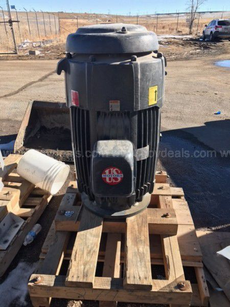 2 Others 200HP Vertical Electric Motors (2) $4995.00 each