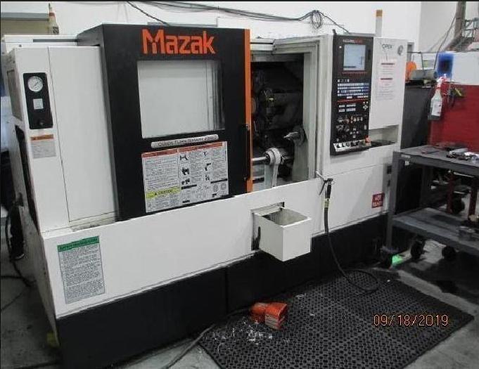 Mazak Quick Turn Nexus 250-II-MSY CNC Turning Center 3 Axis