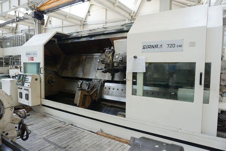 Giana CNC ECS 2302 2000 rpm 720 CNC 2 Axis