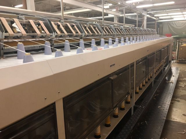 Zinser RO-WE-MAT 670 Roving frames