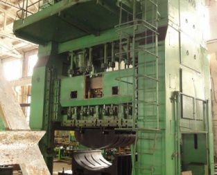 4-crank closed single-action press KA4537 500 Ton