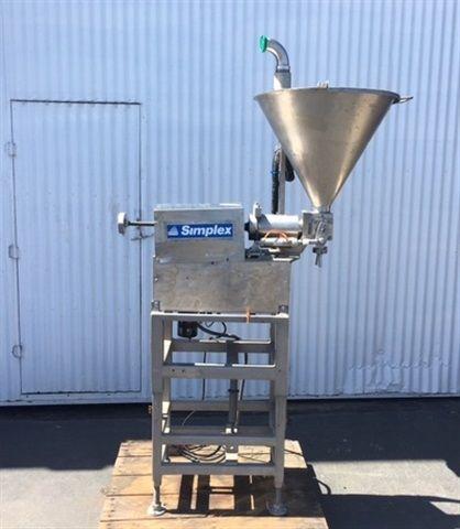 Simplex single-piston Filler