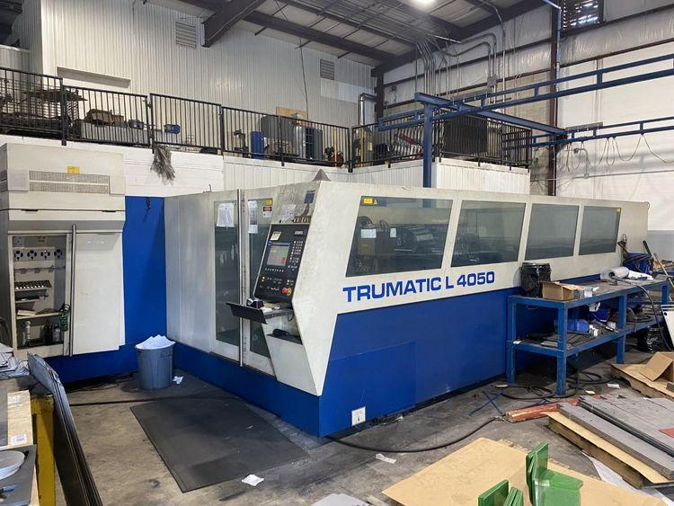 Trumpf L4050 Siemens CNC Controls