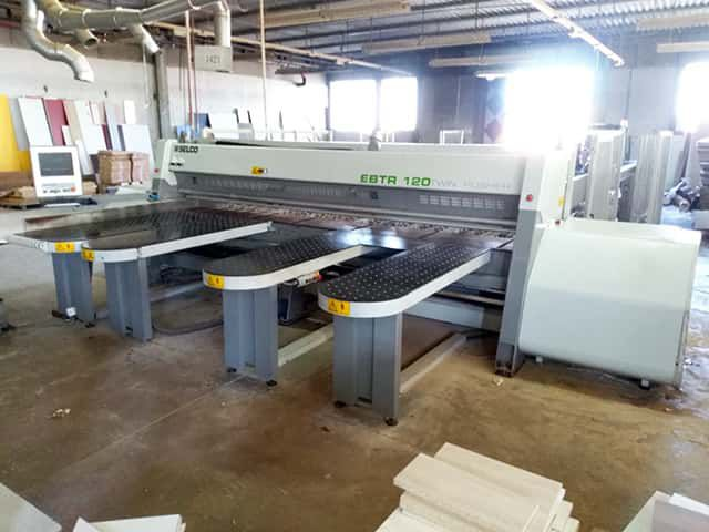 Selco EBTR 120 TWIN PUSHER, Panel saw with automatic loading