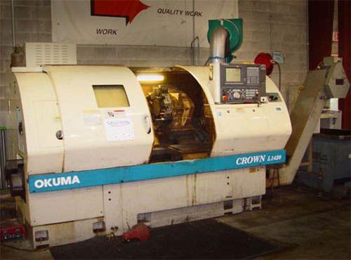 Okuma Okuma OSP U-10L CNC 3500 rpm CROWN L-1420/650 2 Axis