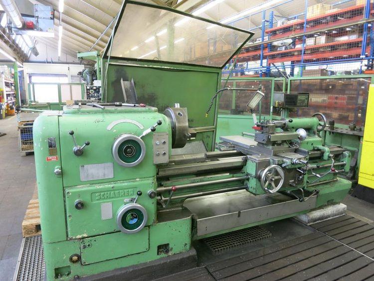 Schaerer Engine Lathe 1400 U/min UD500