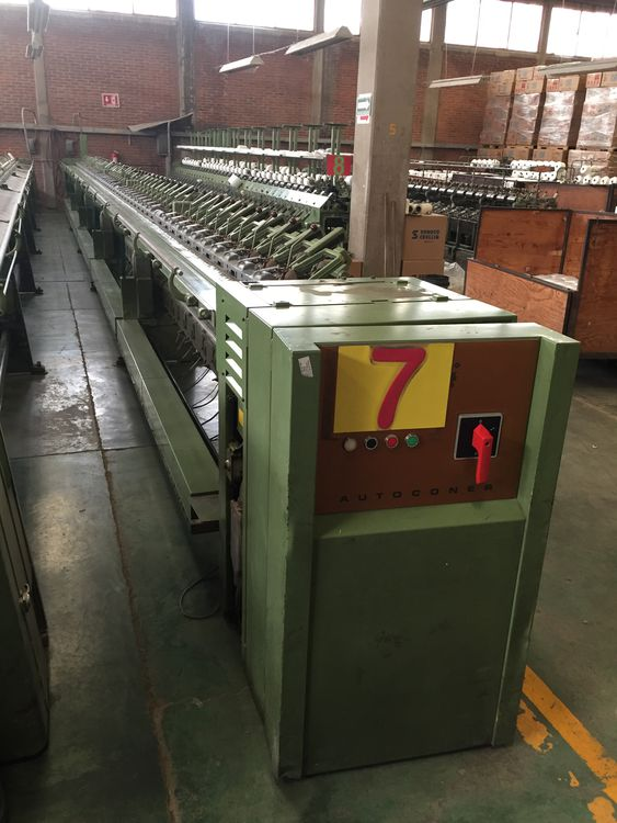 Schlafhorst Cone to cone winding 60 spindles 138