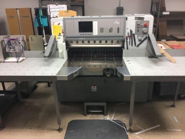 Polar 92 ED, Paper cutter