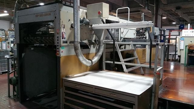 Bobst BMA126 Hotfoil Stamping Machine