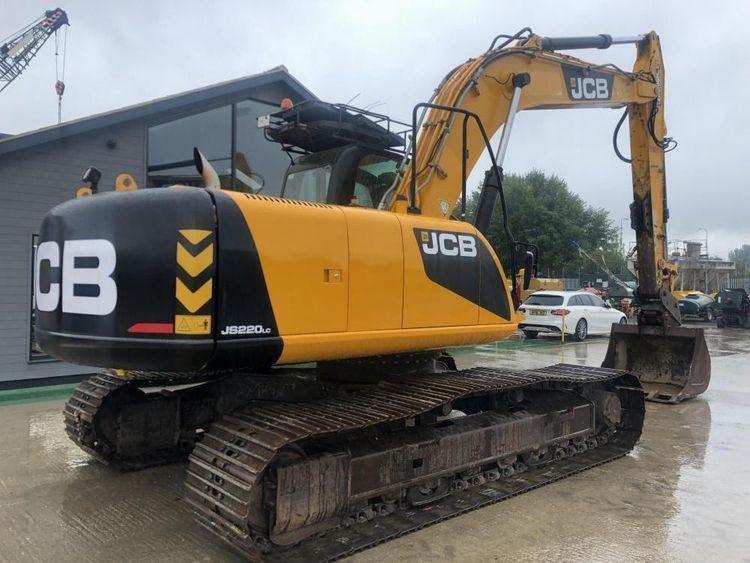 JCB JS220LC Excavator