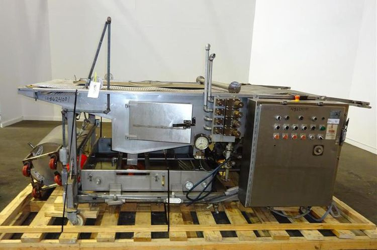 Werner Lehara 11/86 Wire Mesh Belt Conveyor Oil Application System