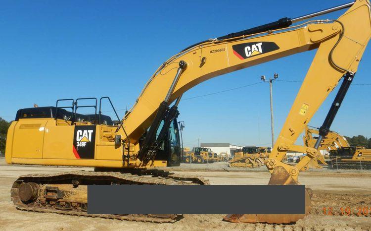 Caterpillar 349FL Excavator