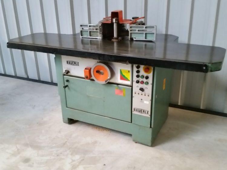 Bauerle SFM / 102 Rigid milling spindle