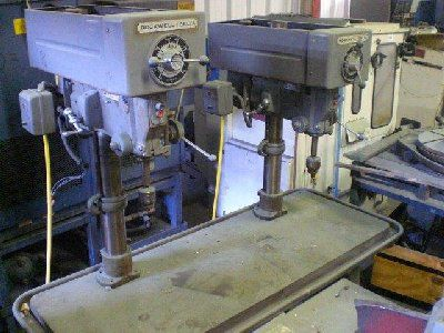 Rockwell Multiple Spindle Drill Max. 2830 Rpm