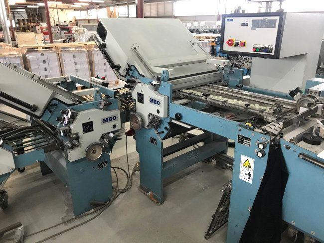 MBO B26 4/4, Folding machine