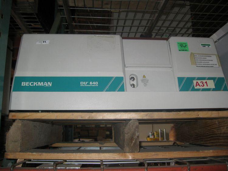 Beckman DU640, Spectrophotometer