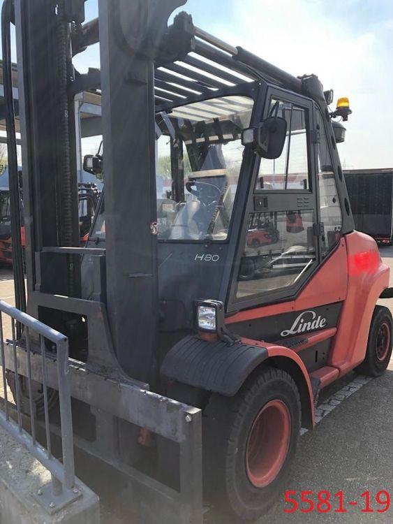 Linde H 80 D 900 8000 kg
