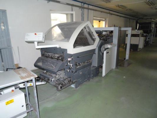 Heidelberg KH 78, Folding machine