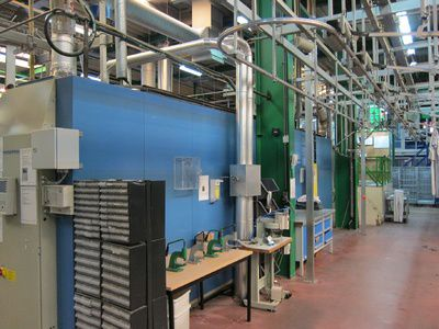 Kannegiesser SMT4-Gas-Turbo Complete Gas Heated Tunnel Finisher System