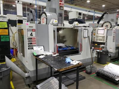 Haas VF-4SS 3 Axis