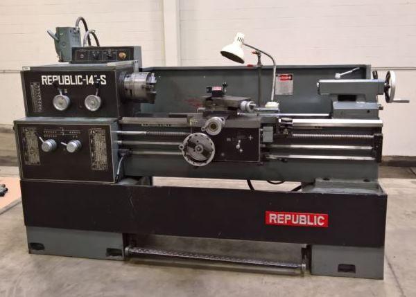Republic Gap Bed Lathe 2000 rpm 14/20x40