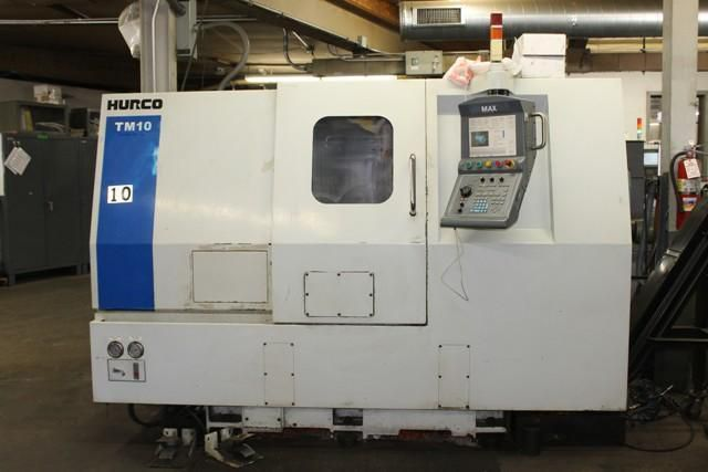 Hurco Max CNC Control 3000 RPM TM-10 CNC Turning Center 2 Axis