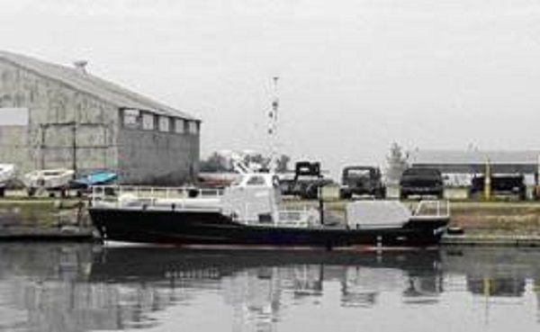 Gross tonnage: 13.29 tons Aluminum Motor Life Boat, Search And Rescue And Towboat