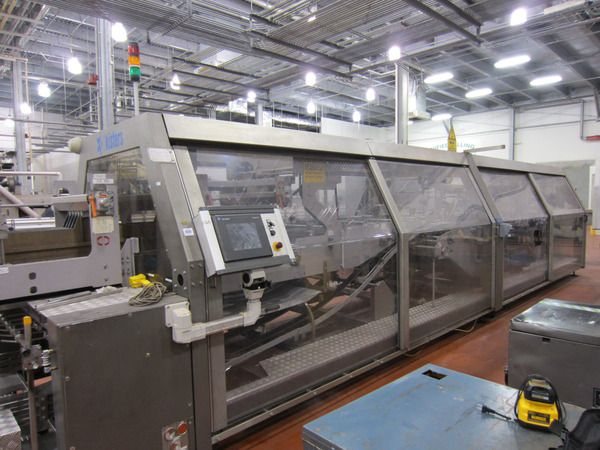 Kisters 320/50, Wraparound Case Packer