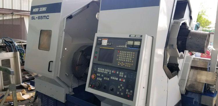 Mori Seiki Fanuc 16T 1010 rpm SL-65MC 2 Axis