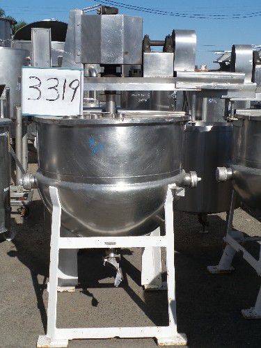 Lee Jacketed Mix Kettle