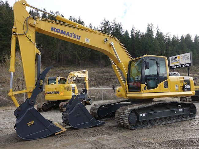 Komatsu PC200 LC-8 Excavator