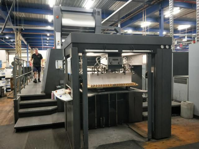 Heidelberg Speedmaster XL 105-6+LYYLX 750mm x 1050 mm