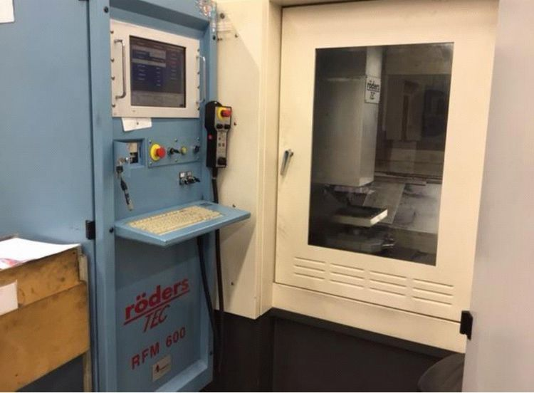 RÖDERS RFM 600 vertical 42000U/min