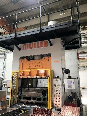 Muller, Weingarten MULLER WEINGARTEN ZE 315-16.24.4 300 ton
