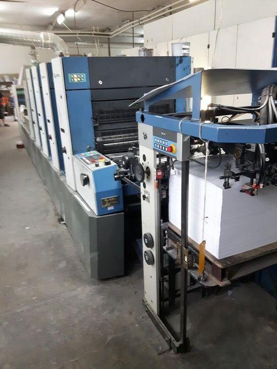 KBA RAPIDA 74 - 4 + L ALV2 PWVA 530x750 mm